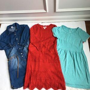 Bundle Of Dresses Size 7/8